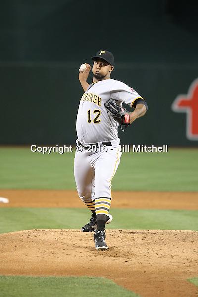 Juan Nicasio - 2016 Pittsburgh Pirates (Bill Mitchell)