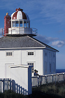 Lighthouse Station at Cape Spear, Newfoundland, Canada