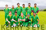 Kerry Cricket Team at the All Ireland National Cup Kerry V Dundrum  at Tralee sports complex on Saturday Pictured Sean Rutland, Moshin Tij, Alan Morshed, Owais Bacha, Naail Riaz, Shani Alan, Azeem Khan, Qasim Mohammed, Khuram Lybal, Darragh Lynch