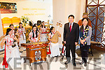Butterfly Troupe,Traditional Chinese Orchestra performing in Siamsa Tire and  Jianguo Xu, Chinese Ambassador to Ireland with his wife, NI Li at the official opening of the Chinese Cultural Festival Exhibition at the Kerry County Museum on Saturday