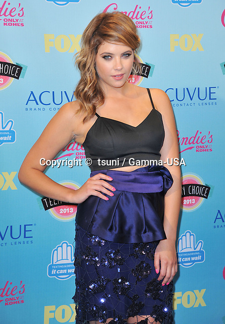 Ashley Benson in the Press Room at the Teen Choice Awards at the Universal Amphitheatre In Los Angeles.