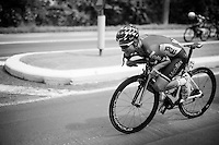 Tosh Van der Sande (BEL/Lotto-Soudal) 'dropping' <br /> <br /> 69th Halle-Ingooigem 2016 (200km)