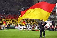 Einlauf der Deutschen Mannschaft - 08.10.2017: Deutschland vs. Asabaidschan, WM-Qualifikation Spiel 10, Betzenberg Kaiserslautern