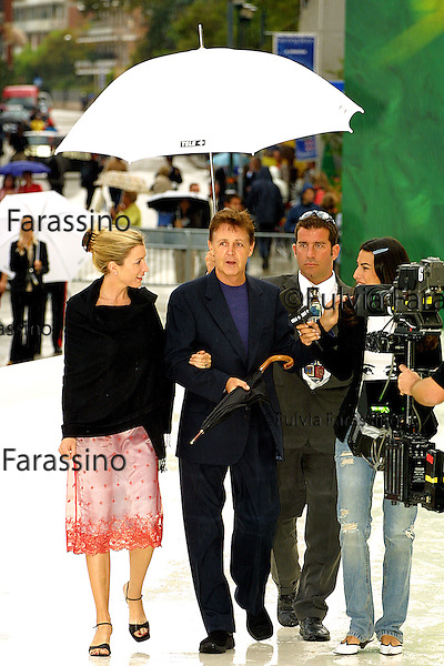 2001,58a Mostra Internazionale d'Arte Cinematografica di Venezia, 58th Venice International Film Festival, Paul McCartney