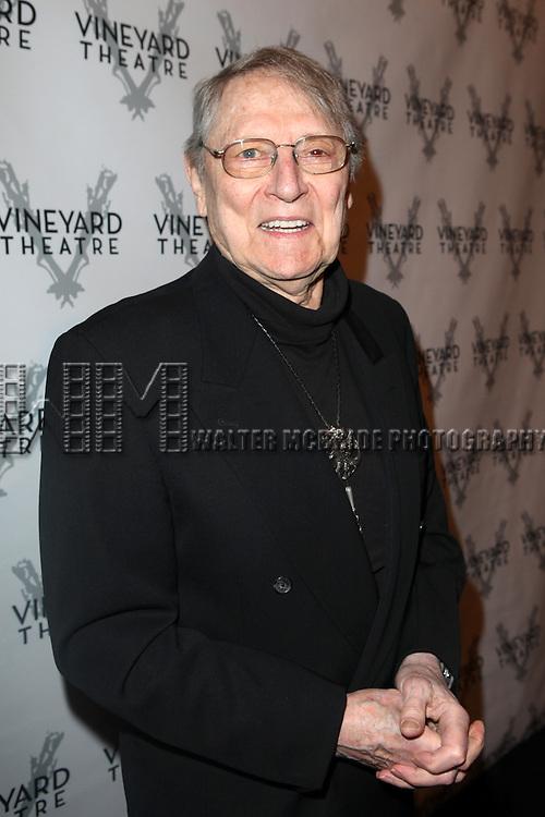 John Cullum attending the Vineyard Theatre's 30th Anniversary Gala Celebration Cocktail Reception at the Edison Ballroom in New York City on 3/18/2013