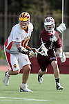 Los Angeles, CA 02/28/09 -  Luke Gilliand (USC #30) and Marc Napp (LMU #1)