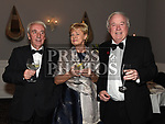 Michael Clarke, Catherine Barry and Frank Godfrey at the Dominican Ball in the Westcourt hotel. Photo:Colin Bell/pressphotos.ie