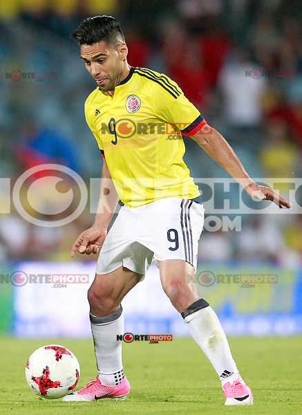 Colombia's Radamel Falcao during international friendly match. June 13,2017.(ALTERPHOTOS/Acero) (NortePhoto.com) (NortePhoto.com)