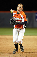 SAN ANTONIO, TX - FEBRUARY 26, 2010: The University of California at Riverside Highlanders vs. the University of Texas at San Antonio Roadrunners Softball at Roadrunner Field. (Photo by Jeff Huehn)