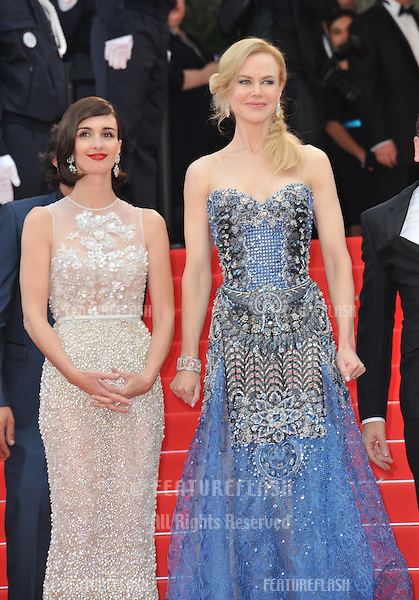 Nicole Kidman &amp; Paz Vega (left) at the gala premiere of their movie &quot;Grace of Monaco&quot; at the 67th Festival de Cannes.<br /> May 14, 2014  Cannes, France<br /> Picture: Paul Smith / Featureflash