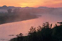 Little Missouri River at sunrise<br /> South Unit<br /> Theodore Roosevelt National Park<br /> North Dakota