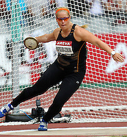 Vera Pospisil-Cechlova at the Samsung Diamond League. Paris,France Friday, July  16, 2010. photo by Errol Anderson.