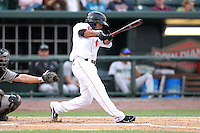 Great Lakes Loons shortstop Rafael Ynoa during a game vs. the Dayton Dragons at Dow Diamond in Midland, Michigan August 19, 2010.   Great Lakes defeated Dayton 1-0.  Photo By Mike Janes/Four Seam Images