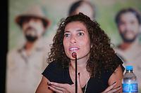 SAO PAULO, 27 DE MARÇO DE 2012. ENTREVISTA COLETIVA FILME XINGU.  A gerente de marketing institucional da empresa Natura, Karen Cavalcanti, participa da entrevista coletiva sobre o filme Xingu que conta a história dos irmãos Villas Boas e a criação do Parque Indígena do Xingu . FOTO: ADRIANA SPACA - BRAZIL PHOTO PRESS