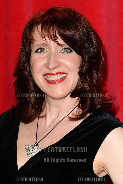 Martine Brown  arriving for the 2014 British Soap Awards, at the Hackney Empire, London. 24/05/2014 Picture by: Steve Vas / Featureflash