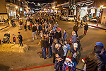 Friday during Jackson, California's annual Christmas Delights open house on Main Street, Black Friday and Plaid Saturday nights...(Plaidurday, shop locally promotion)