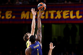 8th December 2017, Palau Blaugrana, Barcelona, Spain; Turkish Airlines Euroleague Basketball, FC Barcelona Lassa versus Fenerbahce Dogus Istanbul; Tip off for start of the match