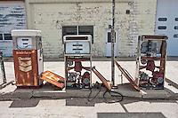 Old Gas Pumps in Sidney, NE