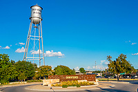The Koughan Memorial Water Tower is an iconic structure in downtown Round Rock. The park directly below the tower offers a nice place for reflection, picnics and family gatherings.