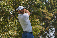 Dustin Johnson (USA) watches his tee shot on 16 during round 1 of the World Golf Championships, Mexico, Club De Golf Chapultepec, Mexico City, Mexico. 3/1/2018.<br /> Picture: Golffile | Ken Murray<br /> <br /> <br /> All photo usage must carry mandatory copyright credit (&copy; Golffile | Ken Murray)