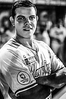 Roberto Ramos de Naranjeros, durante laapertura de la temporada de beisbol de la Liga Mexicana del Pacifico 2017 2018 con el partido entre Naranjeros vs Yaquis. 11 octubre2017 . <br /> (Foto: Luis Gutierrez /NortePhoto.com)