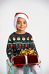 WATERBURY, CT-120218JS01-Christmas Kids, Arti Pari, 5, of Waterbury. <br /> Jim Shannon Republican American