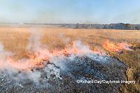 63863-03004 Prescribed Burn by IDNR Prairie Ridge State Natural Area Marion Co. IL