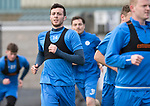 St Johnstone Training&hellip;07.04.17<br />Joe Shaughnessy pictured during training this morning at McDiarmid Park ahead of tomorrow&rsquo;s trip to Inverness<br />Picture by Graeme Hart.<br />Copyright Perthshire Picture Agency<br />Tel: 01738 623350  Mobile: 07990 594431