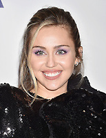 LOS ANGELES, CA - FEBRUARY 08: Miley Cyrus attends MusiCares Person of the Year honoring Dolly Parton at Los Angeles Convention Center on February 8, 2019 in Los Angeles, California.<br /> CAP/ROT/TM<br /> &copy;TM/ROT/Capital Pictures