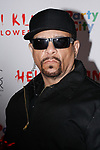 Ice-T arrives at Heidi Klum's 18th Annual Halloween Party presented by Party City and SVEDKA Vodka at Magic Hour Rooftop Bar & Lounge at Moxy Times Square, on October 31, 2017.