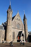 Ridderzaal op het Binnenhof in Den Haag