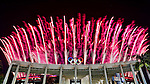 Japan Delegation (JPN), <br /> AUGUST 5, 2016 : <br /> Opening Ceremony <br /> at Maracana <br /> during the Rio 2016 Olympic Games in Rio de Janeiro, Brazil. <br /> (Photo by Sho Tamura/AFLO SPORT)