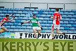 West Kerry in action against Jamie O'Sullivan Legion in the Quarter Final of the Kerry Senior County Championship at Austin Stack Park on Sunday.