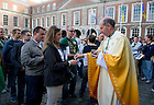 Sept. 1, 2012; The Mass of Thanksgiving at Dublin Castle in Ireland. Photo by Barbara Johnston/University of Notre Dame