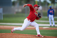St. Louis Cardinals pitcher Kyle Grana (41) during a Minor League Spring Training game against the New York Mets on March 31, 2016 at Roger Dean Sports Complex in Jupiter, Florida.  (Mike Janes/Four Seam Images)