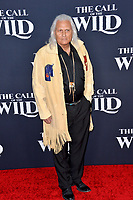"""LOS ANGELES, CA: 13, 2020: Michael Horse at the world premiere of """"The Call of the Wild"""" at the El Capitan Theatre.<br /> Picture: Paul Smith/Featureflash"""