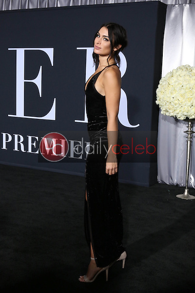 """Ashley Iaconetti<br /> at the """"Fifty Shades Darker"""" World Premiere, The Theater at Ace Hotel, Los Angeles, CA 02-02-17<br /> David Edwards/DailyCeleb.com 818-249-4998"""