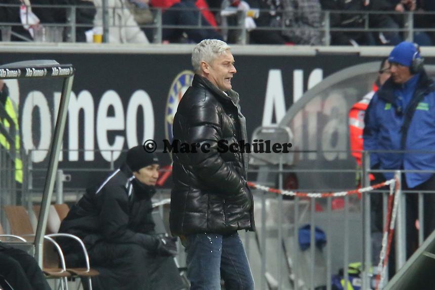 Trainer Armin Veh (Eintracht) - Eintracht Frankfurt vs. FC Augsburg