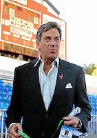 Oct. 8, 2009; Las Vegas, NV, USA; California Redwoods owner Paul Pelosi against the Las Vegas Locomotives during the inaugural United Football League game at Sam Boyd Stadium. Mandatory Credit: Mark J. Rebilas-