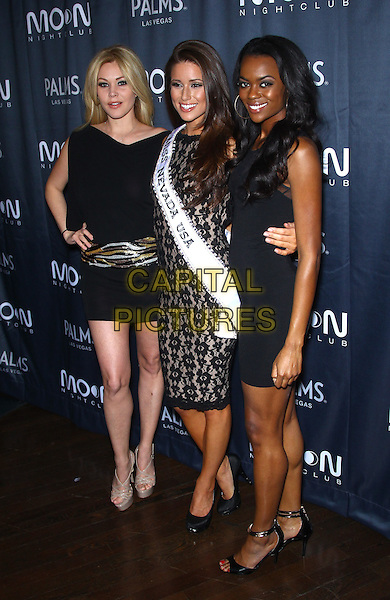 25 January 2014 - Las Vegas, NV - Shanna Moakler, Nia Sanchez.  Shanna Moakler and Miss Nevada 2014 Nia Sanchez host pageant afterparty at  Moon Nightclub inside the Palms Casino Resort.<br /> CAP/ADM/MJT<br /> &copy; MJT/AdMedia/Capital Pictures