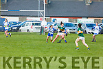Kerrry's Lorraine Scanlon in action against Waterford in the LGFA National football league in Strand Road on Saturday.
