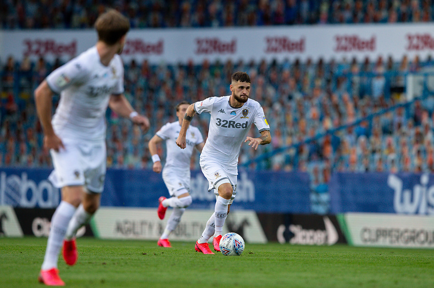 Leeds United's Mateusz Klich in action<br /> <br /> Photographer Alex Dodd/CameraSport<br /> <br /> The EFL Sky Bet Championship - Leeds United v Charlton Athletic - Wednesday July 22nd 2020 - Elland Road - Leeds <br /> <br /> World Copyright © 2020 CameraSport. All rights reserved. 43 Linden Ave. Countesthorpe. Leicester. England. LE8 5PG - Tel: +44 (0) 116 277 4147 - admin@camerasport.com - www.camerasport.com