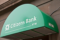 Citizens Bank branch is pictured in Hartford, Connecticut, Saturday August 6, 2011. A wholly owned subsidiary of the Royal Bank of Scotland Group, Citizens Financial Group, Inc. is an American bank.