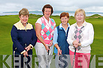 CAPTAIN'S PRIZE: Competing in the Captain's Prize to the Ladies at Tralee Golf Club on Sunday l-r: Magie Murphy, Philomena Stack, Monica O'Neill (Ladies Vice Captain) and Ber Collins (Ladies Captain.