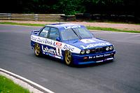 Round 9 of the 1991 British Touring Car Championship. #4 Tim Harvey (GBR). BMW Team Labatt's. BMW M3.