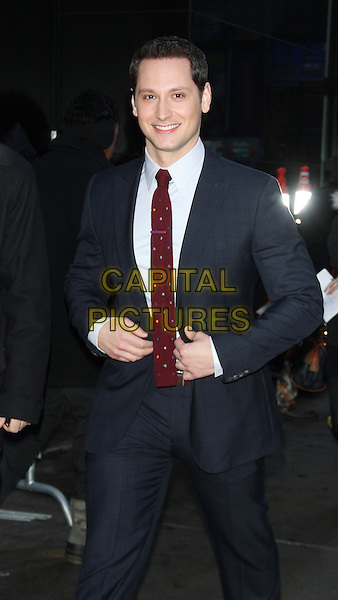 NEW YORK, NY - JANUARY 29: Matt McGorry at Good Morning America promoting the new season of ABC's How to Get Away with Murder on January 29, 2015 in New York City.  <br /> CAP/MPI/RW<br /> &copy;RW/ MediaPunch/Capital Pictures