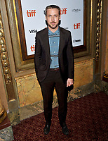 10 September  2018 - Toronto, Ontario, Canada. Ryan Gosling. &quot;First Man&quot; Premiere - 2018 Toronto International Film Festival at the Elgin Theatre. <br /> CAP/ADM/BPC<br /> &copy;BPC/ADM/Capital Pictures