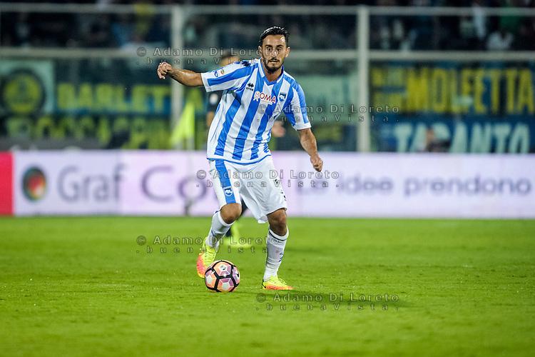 Alberto Aquilano (Pescara) during the Italian Serie A football match Pescara vs SSC Inter on September 11, 2016, in Pescara, Italy. Photo by Adamo DI LORETO