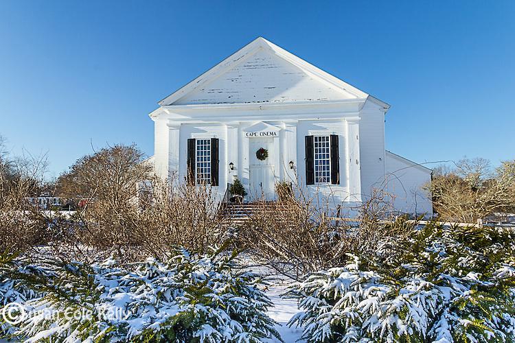 The Cape Cinema in Dennis, Cape Cod, Massachusetts, USA