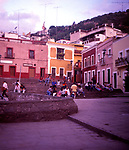 A294JD Guanajuato Mexico plaza